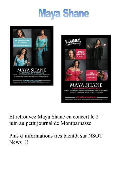 Concerts Maya Shane